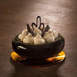 Savarin au chocolat noir