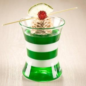 Jello cup dessert