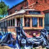 Vintage trams HDR extravaganza
