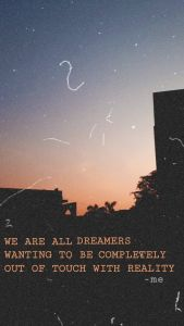 Wallpaper  Aesthetic  Quotes  Soul Life Feeling  Thoughts  Reality  Dusk Sky