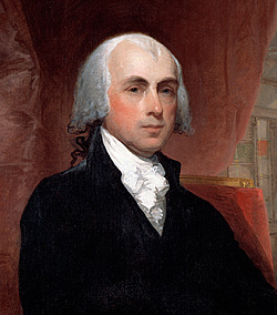 Image result for photo of James Madison