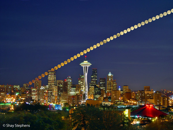 Seattle Skyline by Shay Stephens