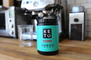 Perfect Keto collagen MCT choc powder mix