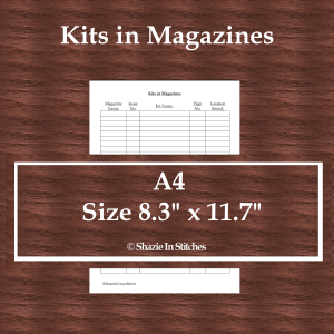 A4 Size – Kits in Magazines Page