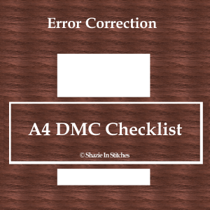Revised A4 DMC Checklist Single Page