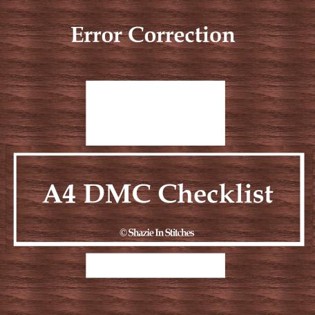 error correction_A$_DMC_CHECK
