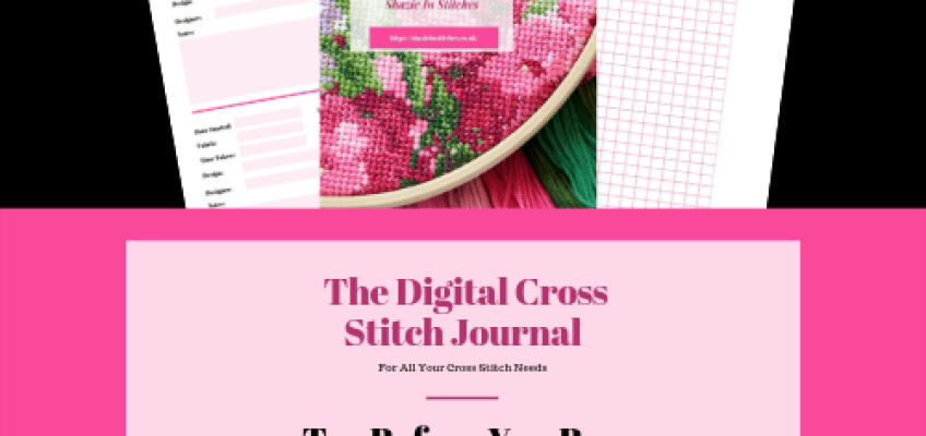 Digital Cross Stitch Journal and Mobile Phones