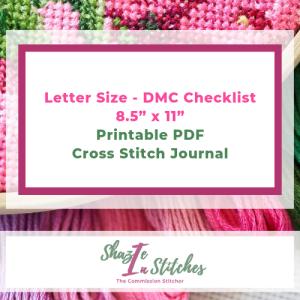 Pink Letter Size – DMC Checklist
