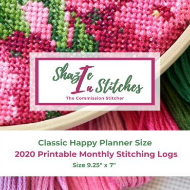 CHP – 2020 Monthly Stitching Logs