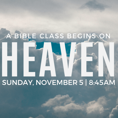 Heaven – it's almost here!