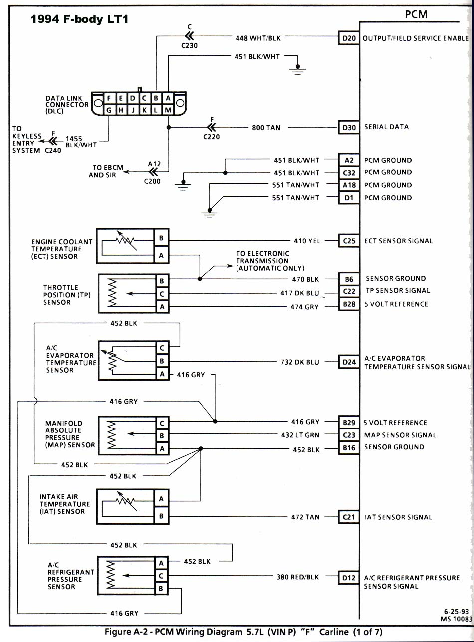 95 Lt1 Wiring Diagram Schematic Harness 21 Images Diagrams Astro 94 Trans