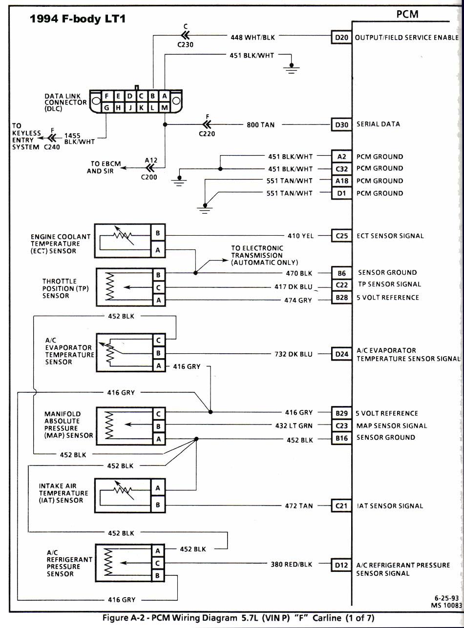 95 Lt1 Wiring Diagram Diagrams Harness 21 Images Camaro Sensor Location