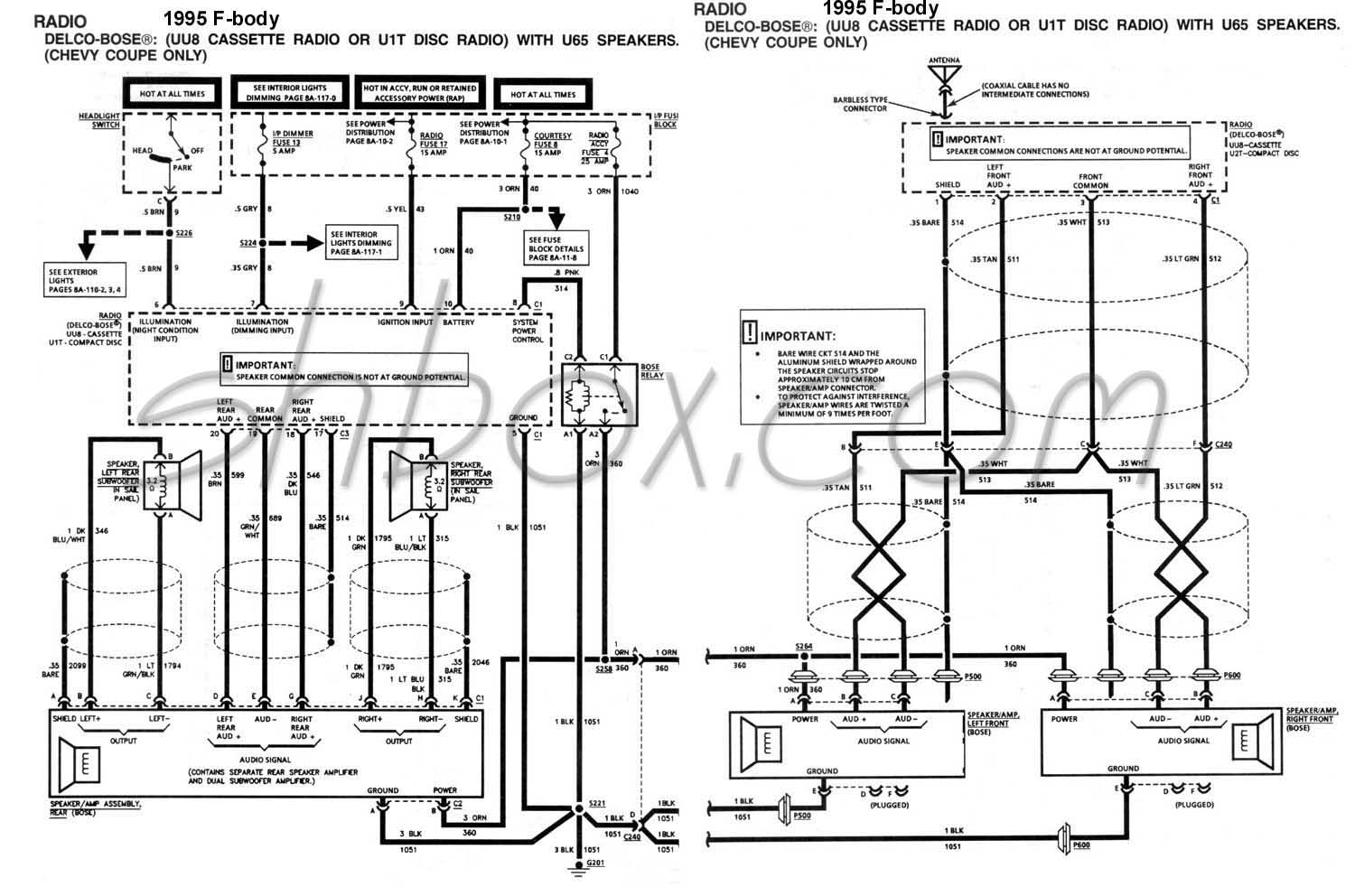 Corvette Horn Wiring Diagram