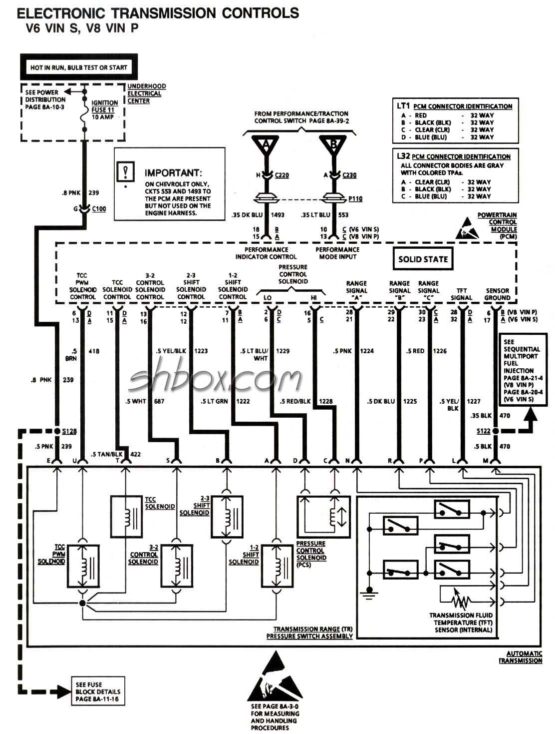 4l60e Connector Wiring Diagram