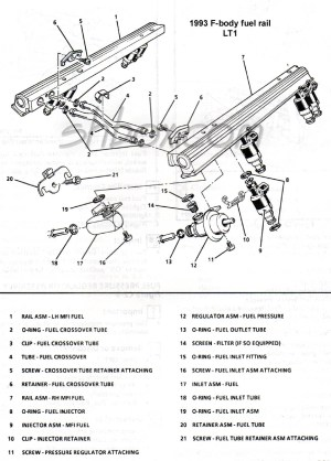 Lostmisplaced lt1 fuel rails  LS1LT1 Forum : LT1, LS1