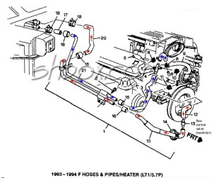 19931997 FBody Part Number Collection