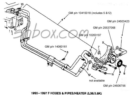 lt1 radiator hose diagram