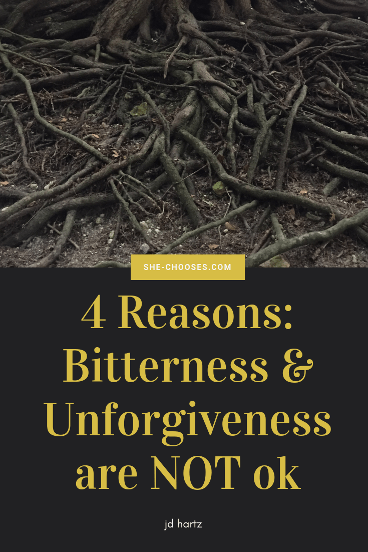 4 reasons unforgiveness