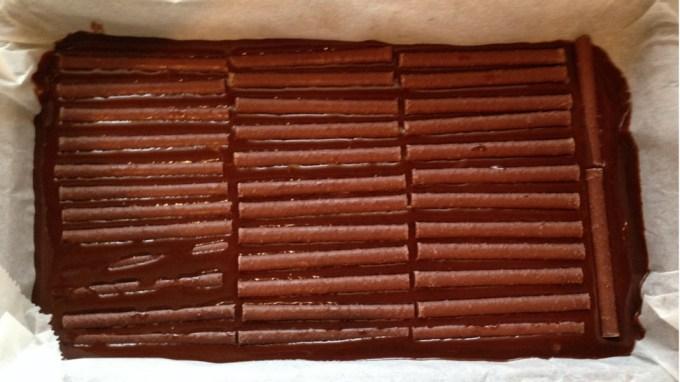 Orange Crunch Brownies