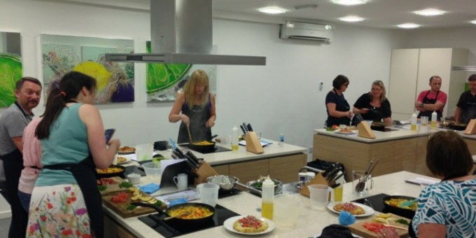 Tapas & Paella Cheshire Cookery School