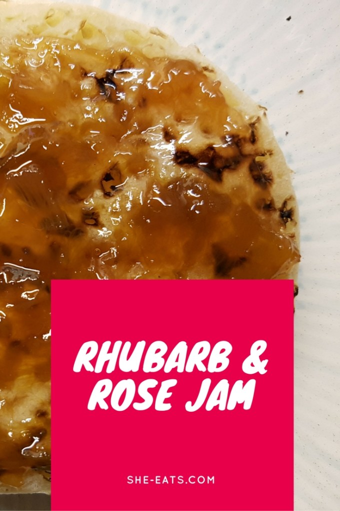 RHUBARB AND ROSE JAM / Inspired by Molton Brown hand cream! / SHE-EATS