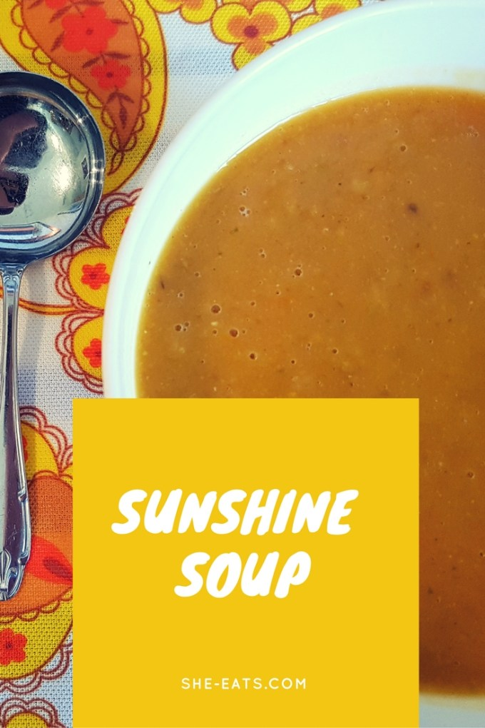 Butternut tomato corn soup / SHE-EATS