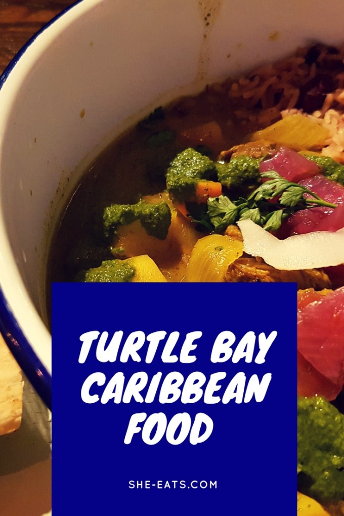 Turtle Bay / Caribbean Food . SHE-EATS