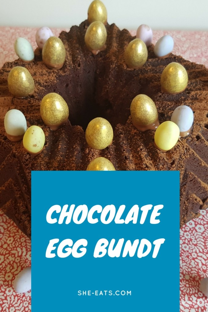 chocolate egg bundt / SHE-EATS