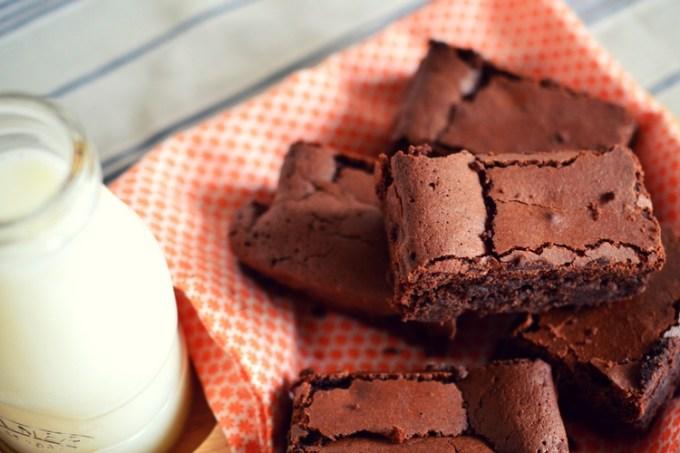 The ultimate brownie recipe / chocolate brownie / SHE-EATS