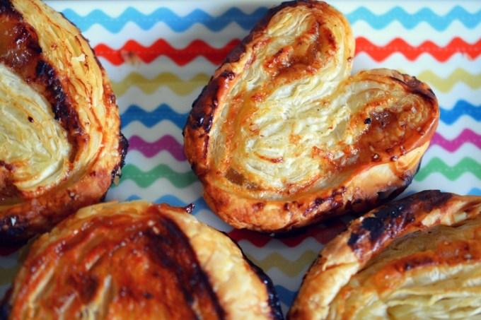 Honey ginger palmiers / she-eats