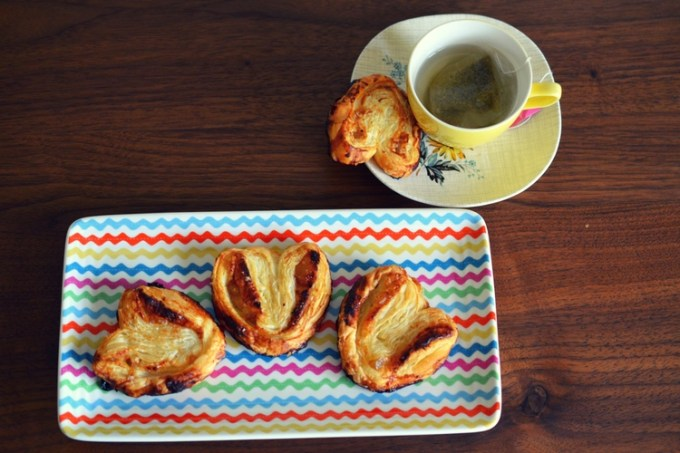 Honey Ginger Palmiers