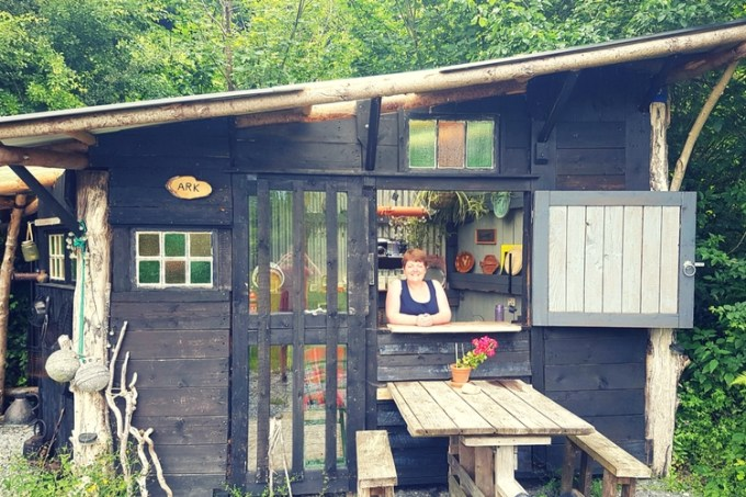 The Ark at Leewood glamping Devon / UK holidays / SHE-EATS