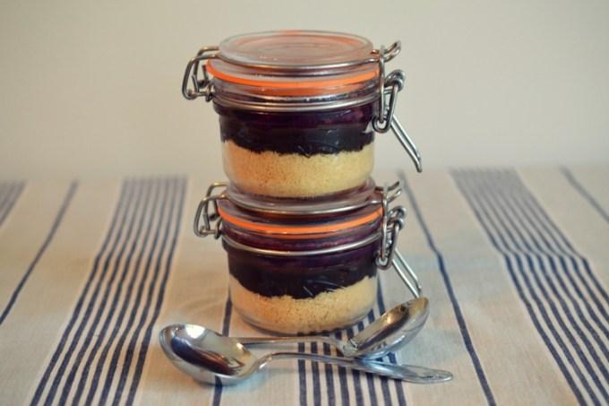 No bake dessert pot / chocolate fruit pot / she-eats