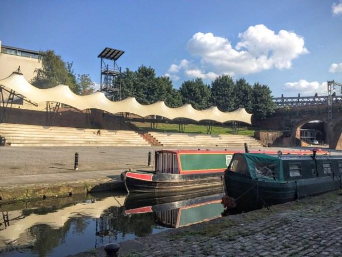 top picnic spots / castlefield basin / she-eats