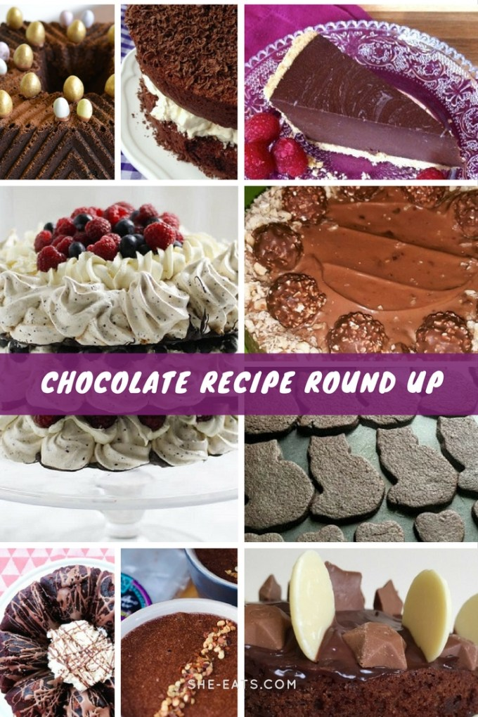 Best chocolate recipes roundup / Chocolate Week 2017 / SHE-EATS /