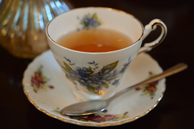 A vintage cup and saucer / The Courthouse Knutsford / Afternoon Tea / SHE-EATS