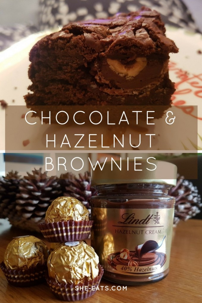 Chocolate Hazelnut Brownies / The Ambassadors Brownies / Recipe / SHE-EATS