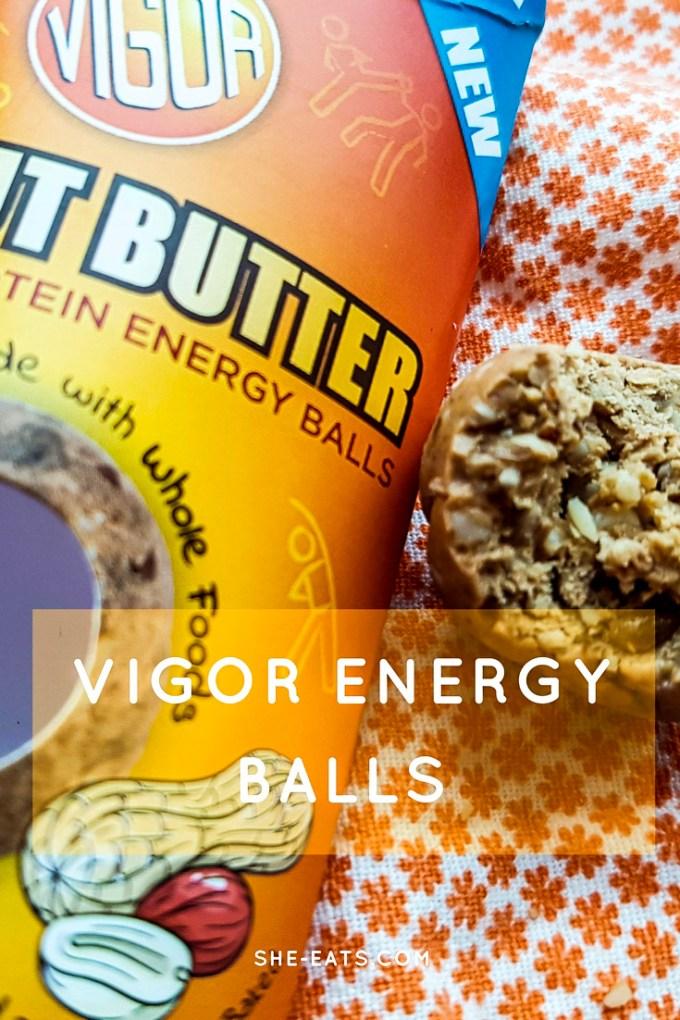 Vigor protein ball energy balls / SHE-EATS