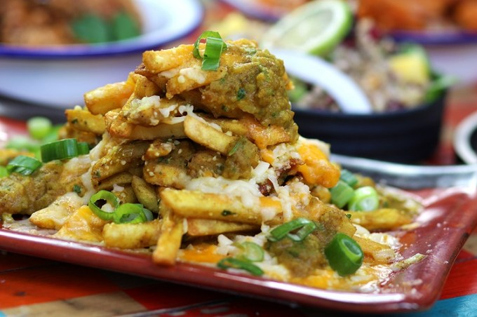Curry cheese fries / Turtle Bay Manchester Oxford Road / SHE-EATS