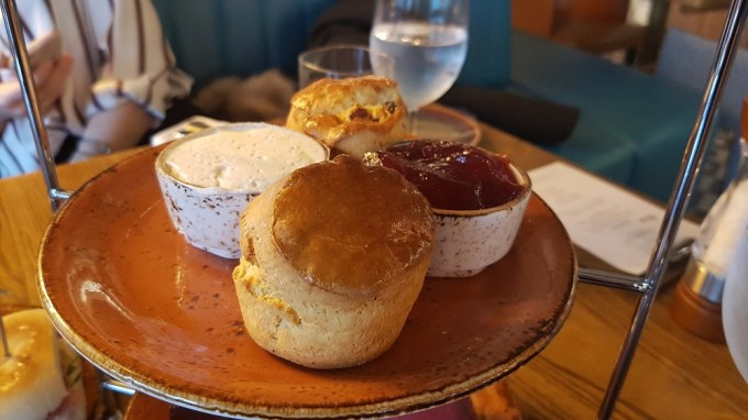 Scones jam and cream / Afternoon tea Mamucium Manchester / She-Eats.com