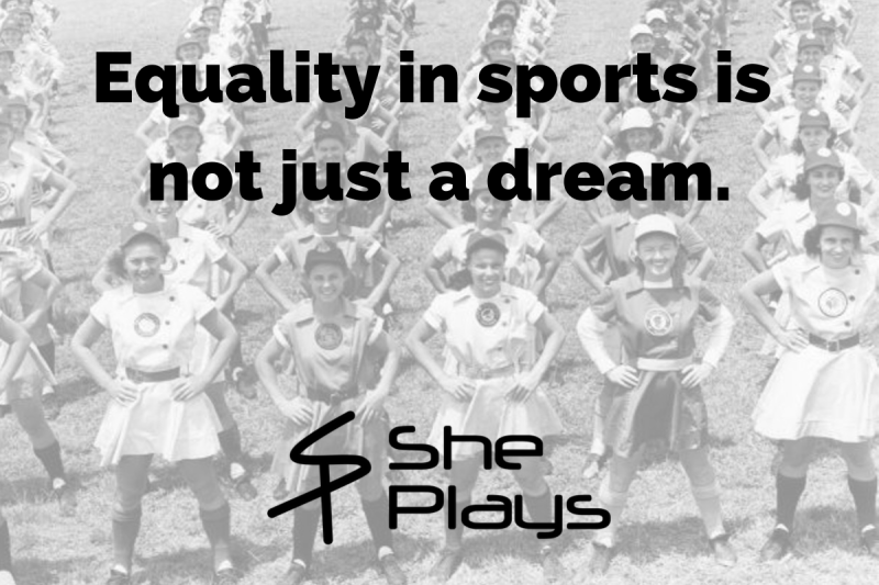 Equality in sports is not just a dream.-3