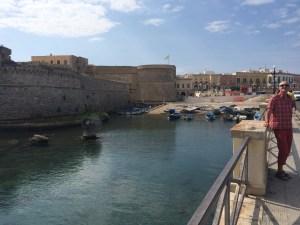 Gallipoli Altstadt ist wirklich einen Besuch wert
