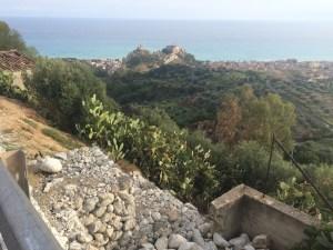 the castle of Rocella Ionica
