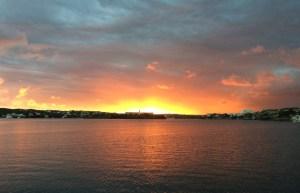Sonnenaufgang Bucht von Mahon