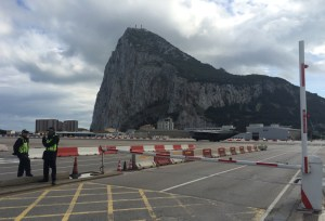 going over to Gibraltar you have to cross the runway of Gibraltar, when there is air traffic, it just gets closed and everyone has to wait