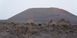 in the Timanfaya national park