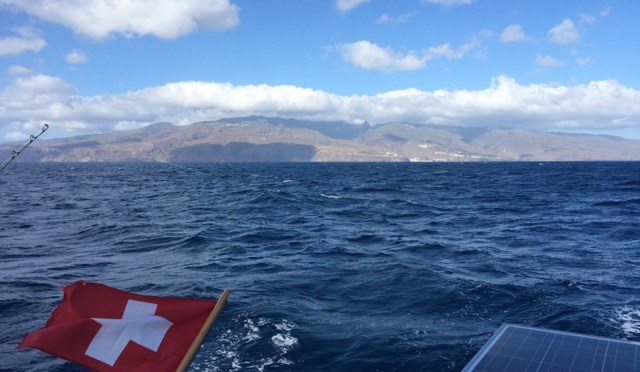 Sailing from La Gomera, Canary Islands to Sal, Cabo Verde