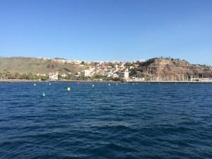 arriving in San Sebastian de la Gomera