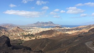 Mindelo from further up