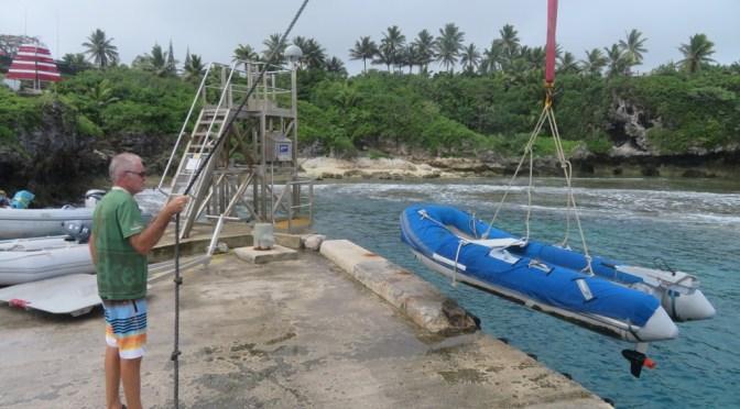 Von Palmerston über Niue nach Neiafu, Tonga